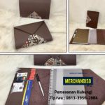 Souvenir agenda untuk kantor bisa dilogo berkualitas murah di Tangerang