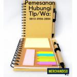 Produksi souvenir agenda custom di Jakarta Selatan