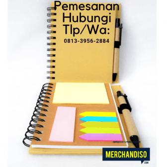Souvenir agenda murah bisa custom bisa dikirim ke Gorontalo