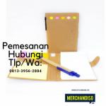 Souvenir agenda custom murah bisa dikirim ke Singkawang