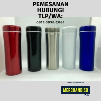 Jual tumbler custom untuk kantor murah bisa dikirim ke Cirebon