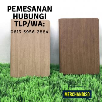 Produksi souvenir agenda custom di Bogor