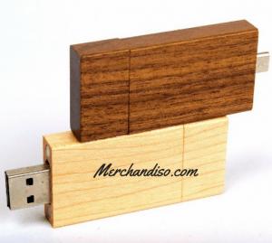 jual Flash Disk Promosi dari kayu murah di jakarta