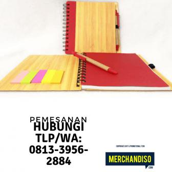 Souvenir agenda custom murah bisa dikirim ke Palangkaraya
