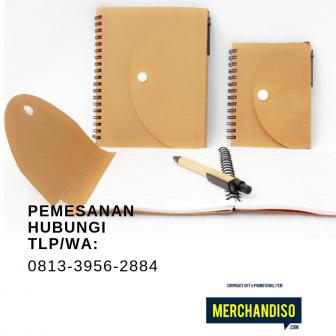 Souvenir agenda custom murah bisa dikirim ke Semarang
