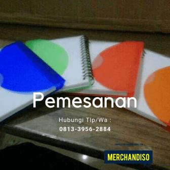Jual souvenir Agenda bisa dilogo nama perusahaan murah bisa dikirim ke Malang