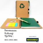 Jual Souvenir agenda custom murah di Bekasi