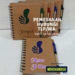 Grosir souvenir agenda murah bisa custom logo di Mampang Jakarta