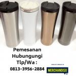 Jual Souvenir Tumbler bisa custom menarik untuk kantor bisa dikirim ke Medan
