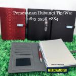 Souvenir agenda custom logo murah di Bsd Tangerang