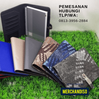 Souvenir agenda custom murah di Bekasi