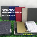 Produksi souvenir agenda logo custom bisa dikirim ke Semarang