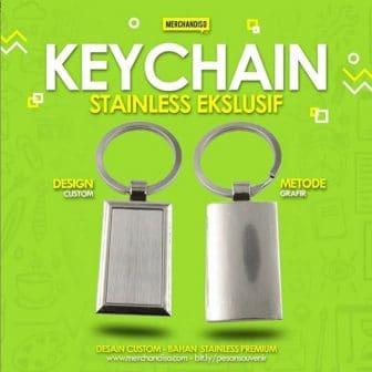 Jual keychain stainless murah di Bintaro Jakarta Selatan