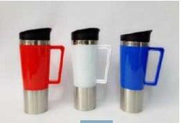 Tumbler Mug Gagang Kotak promosi