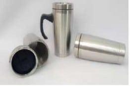 Tumbler Mug stainless 3 garis
