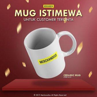 Jual mug murah bisa custom