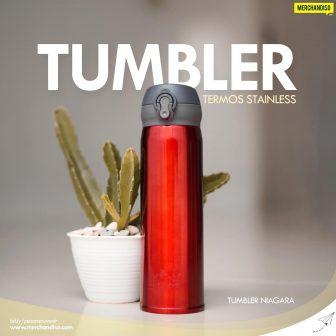 Tumbler botol minum souvenir promosi murah bisa custom