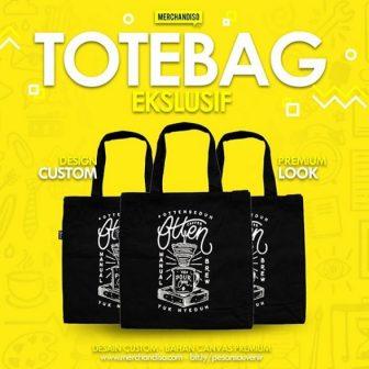 Totebag custom logo