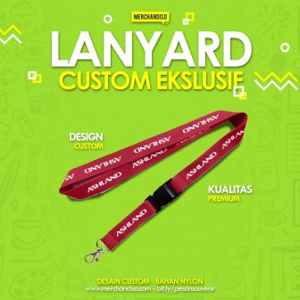 landyard custom logo promosi murah