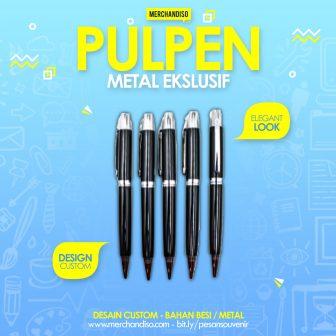 pulpen stainless promosi murah