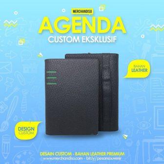 Kini buku agenda dapat di custom logo Perusahaan