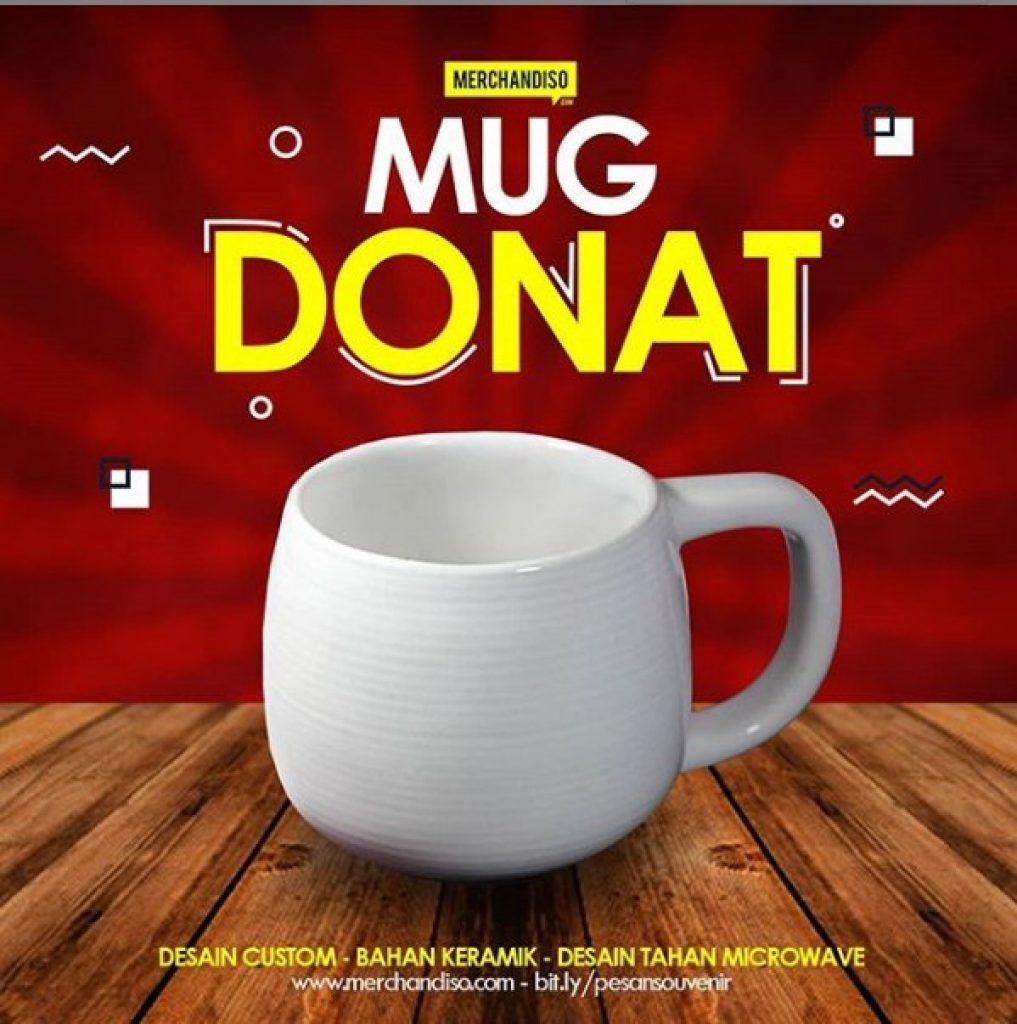 Mug donat promosi unik