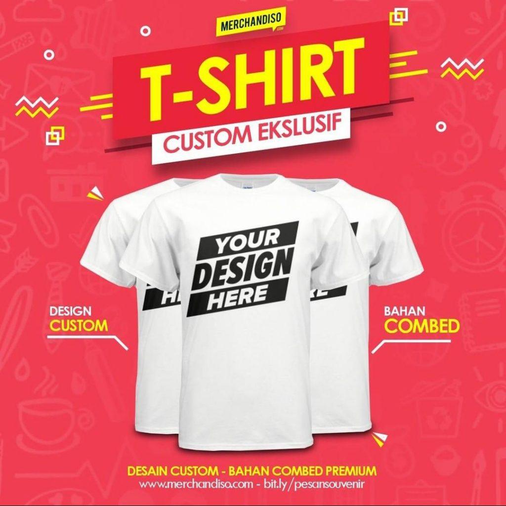Tshirt promosi murah