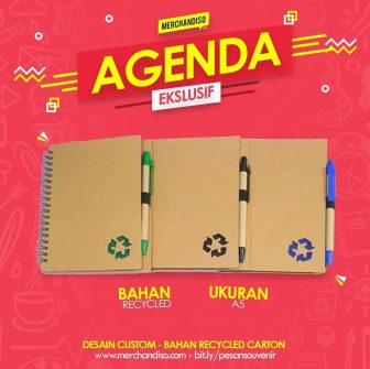 buku catatan promosi recycle