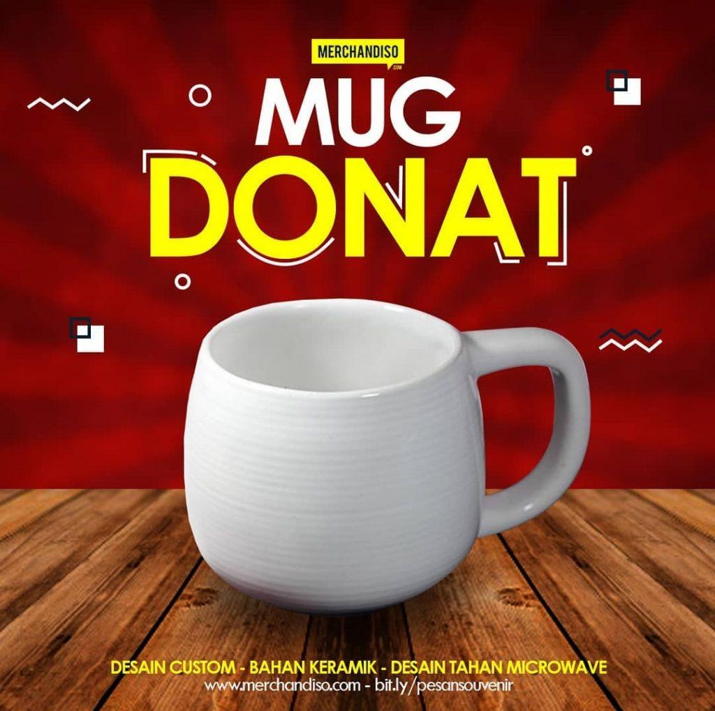 mug donat promosi bermanfaat