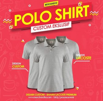 polo shirt promosi berkualitas