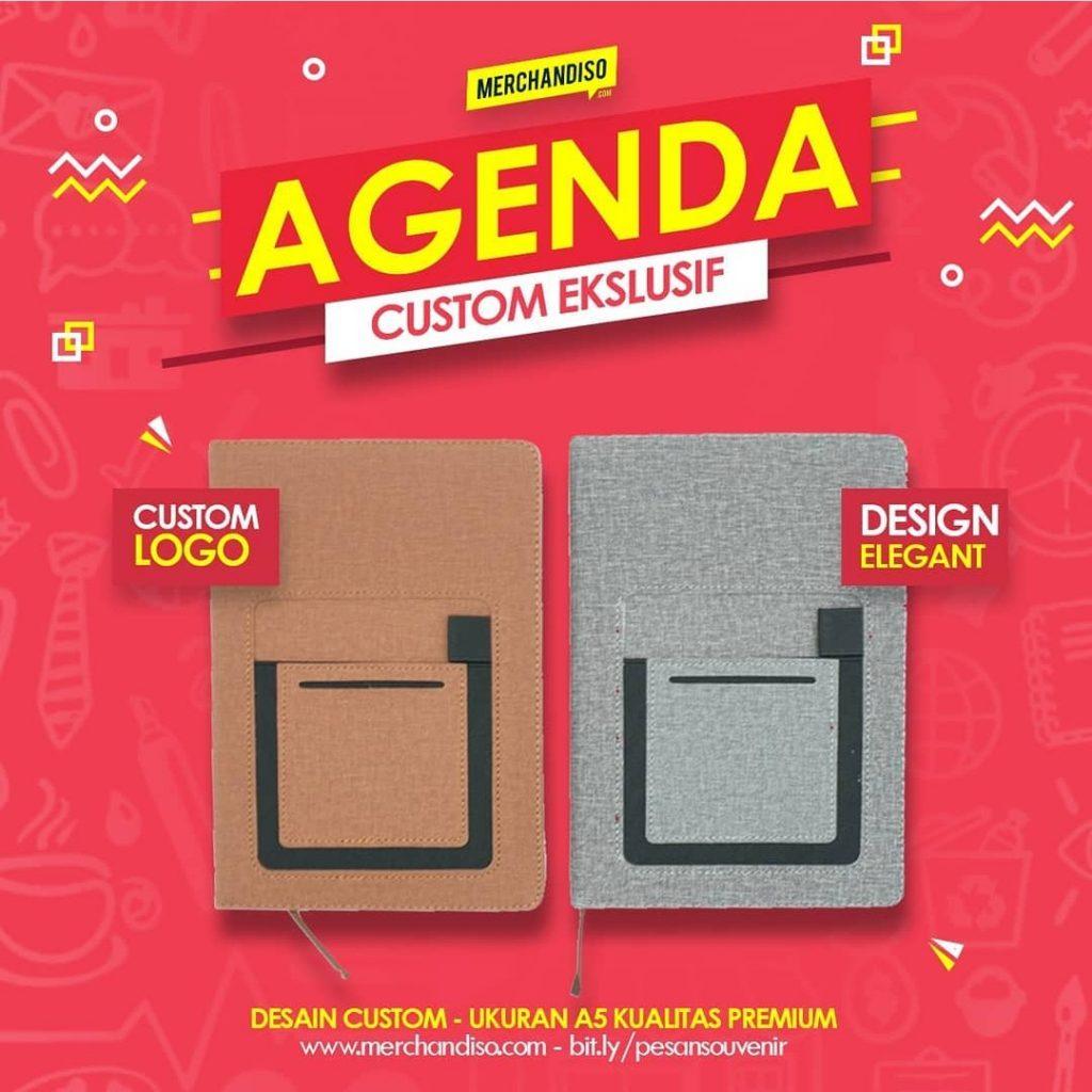 sampul buku agenda menarik promosi