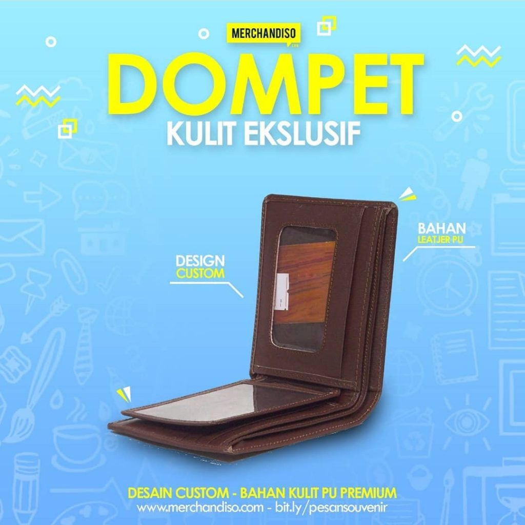 dompet kulit promosi murah