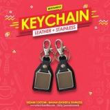 Promosi gantungan kunci custom logo perusahaan
