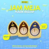 Souvenir Jam Meja Untuk Promosi Kantor