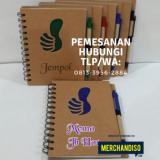 Tempat jual agenda murah berkualitas bisa custom di bintaro