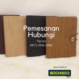 Souvenir agenda desain unik murah bisa dikirim ke Medan