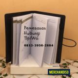 Souvenir agenda desain unik murah bisa dikirim ke Cirebon