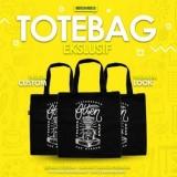 Tote bag custom logo perusahaan berkualitas di bintaro