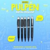 jual pulpen stainless promosi custom murah berkualitas