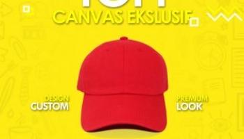 Jual berbagai jenis topi custom promosi berkualitas